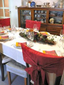 ファミリークリスマステーブル