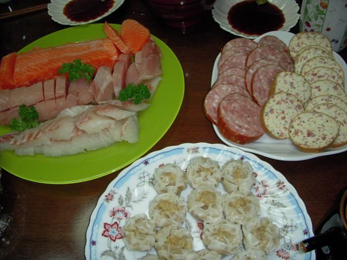 実家の夕飯