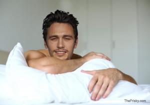 james franco in bed
