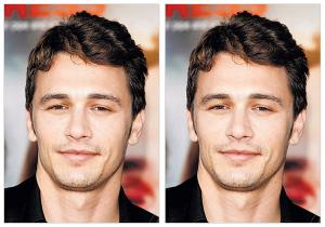 james franco before&after