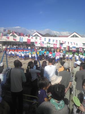 元気幼稚園運動会