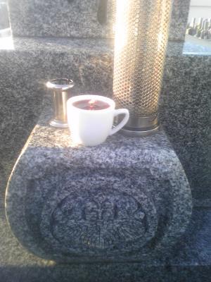 墓コーヒー