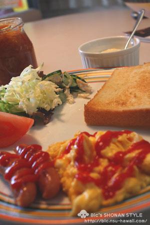 簡単,朝食