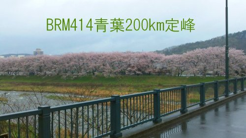 BRM414青葉200km定峰