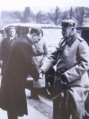 ヒンデンブルグとヒトラー