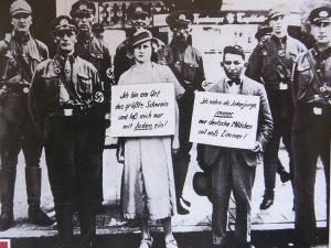 ユダヤ人男性とドイツ人女性