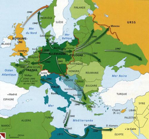 枢軸国の勝利から連合国の勝利へ1