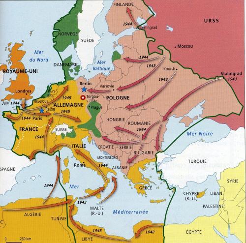 枢軸国の勝利から連合国の勝利へ3