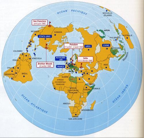 Le monde en 1945 その1