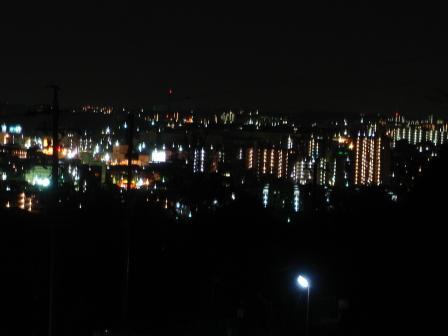 東山公園辺りからの夜景