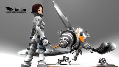 汎用浮遊式操縦システム「アントライオン」