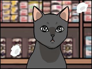 029 黒猫 アップ