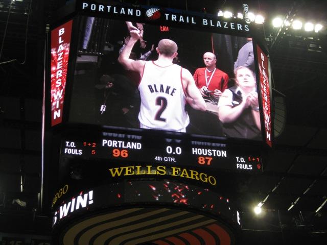 スポーツビジネス留学 in Oregon         : NBAシーズン開幕