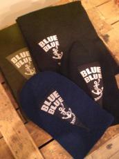 B.BLUEアンカーマフラー&アンカーCAP