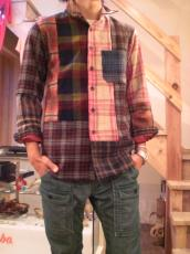 マルチパネル ウールL/Sシャツ