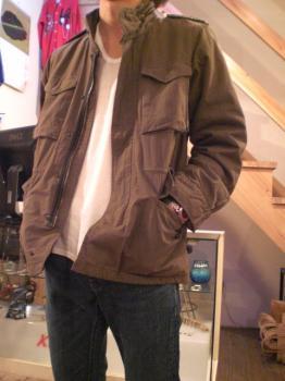 キャンバス M65ジャケット