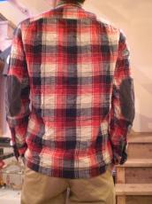 ガーゼウールチェックL/Sシャツ
