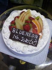 1周年おめでとケーキ♪