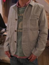ヒッコリーUSEDカバーオールジャケット