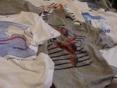 たくさんのTシャツ達♪