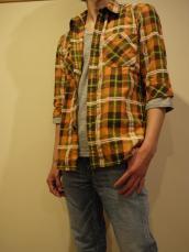 NEW MOLE7分袖シャツ