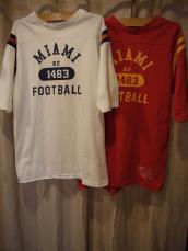 80'SフットボールTee