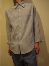 コットンリネンレギュラーL/Sシャツ