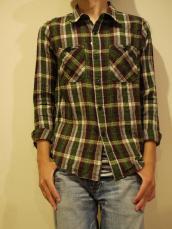 GAIJIN スパンチェックL/Sシャツ