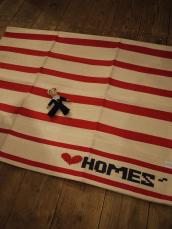 HOMES' ボーダーマット Lサイズ