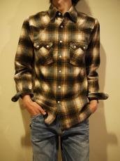 ネルチェックライトWSTシャツ
