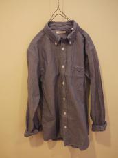 SFC インディゴシャンブレーボタンダウンL/Sシャツ