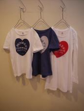 HOMES' ハートTシャツ&ワンピース