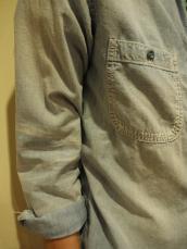 シャンブレーサンタンL/Sシャツ