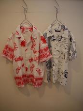 BB SEA&ハワイレディースアロハシャツ