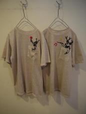 Nasngwam(ナスングワム) CLOWN&DearパンサーTシャツ