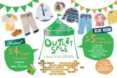 OUTLET SALE開催♪