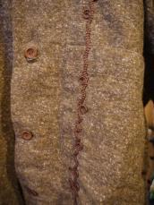 Nasngwam(ナスングワム) ファニーフードシャツ