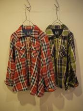 BIGTOP チェックチュニックシャツ(レディース)
