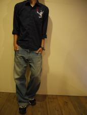 Nasngwam(ナスングワム) CLOWN L/Sシャツ