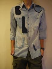 BB BLUEリメイクシャツ