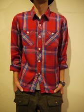 GAIJIN WKネル2ポケットL/Sシャツ