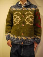 快晴堂 カウチン長袖セーター