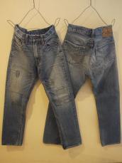 PP39 1STレイヤードジーンズ