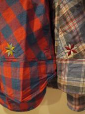 Nasngwam CAMPチェックシャツ