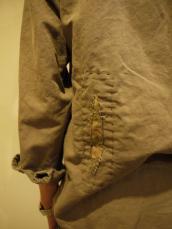 リネンチノクロス リペアL/Sシャツ