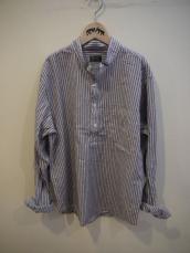 聖林インポート HOMESPUN ナイトストライプL/Sシャツ