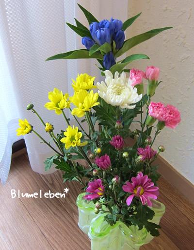 仏花基本の色と花