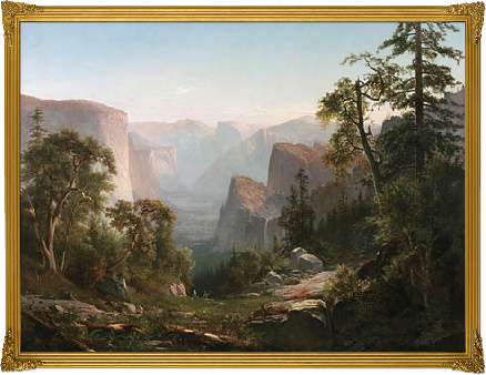 view of the yosemite valley