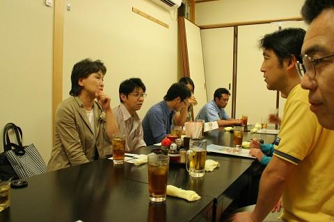 講座終了後の懇親会