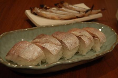 1030小鯛sushi